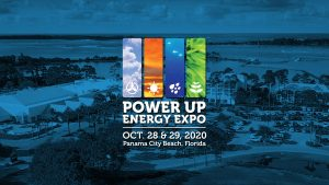 Power Up Energy Expo title slide